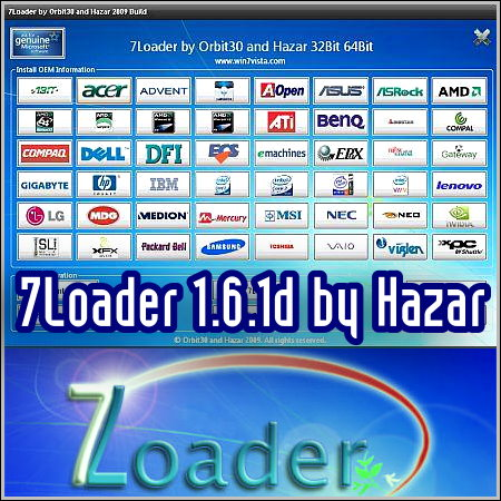 7Loader Release 4 (Windows 7 activator) .